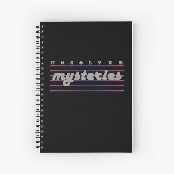 A notepad that lets you sleuth in style (Unsolved Mysteries)