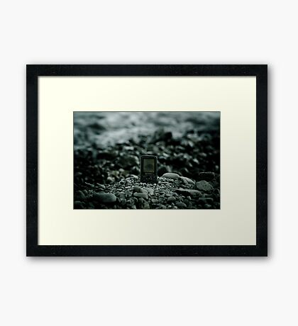 the call of nature Framed Print