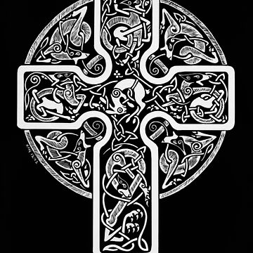 Hounds and Hare Cross by CapallGlas
