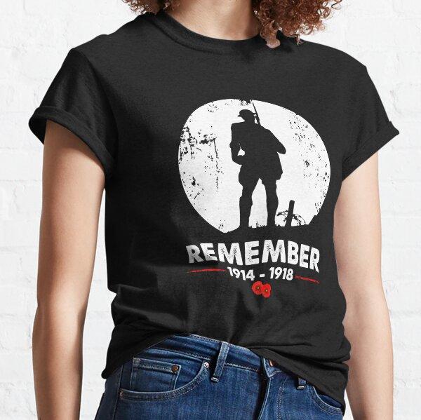 Veteran Remember World War 1 Classic T-Shirt