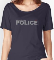 Metropolitan Police  Women's Relaxed Fit T-Shirt