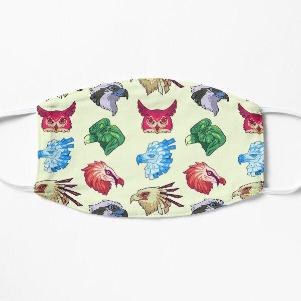 Raptor bird stickers Mask