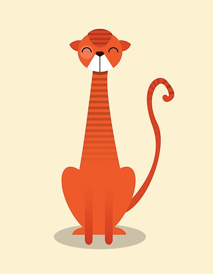 Orange Cat by volkandalyan