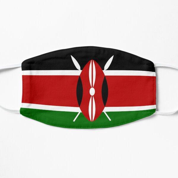 Kenyan Flag Collection Flat Mask