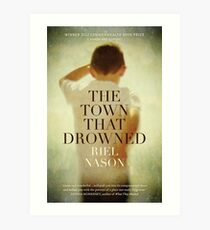 Book Cover - The Town That Drowned Art Print