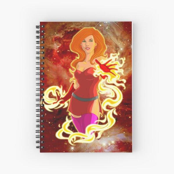 Sunburst (w/background) Spiral Notebook