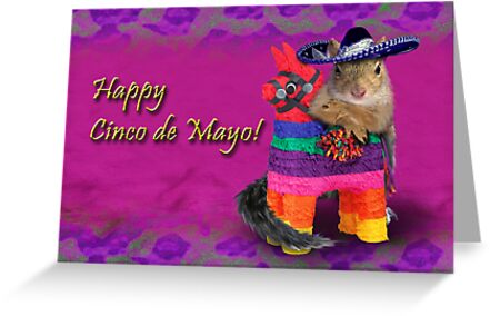 Cinco de Mayo Squirrel by jkartlife