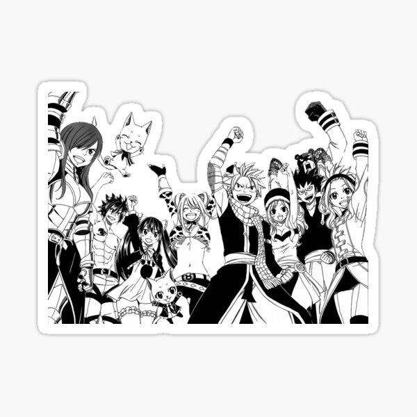 Fairy Tail - Gremio de Fairy Tail Pegatina