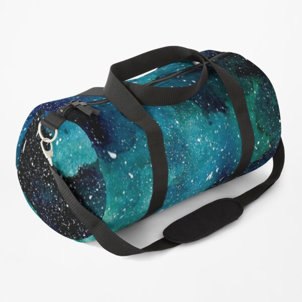 Smaragd-Galaxie Sporttasche