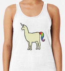 Camiseta con espalda nadadora Llamacorn