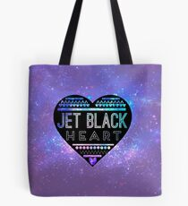 Bolsa de tela Jet Black Heart