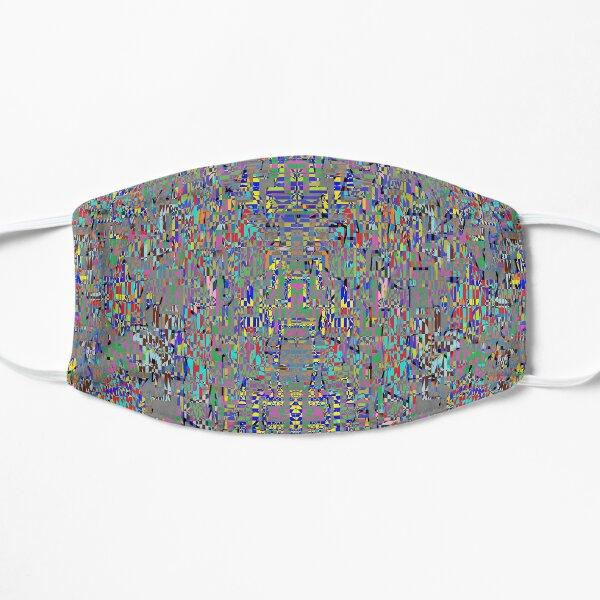 пестрый, motley, variegated, mottled, pied, checkered, patchwork, разноцветный Flat Mask