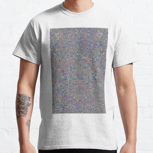 пестрый, motley, variegated, mottled, pied, checkered, patchwork, разноцветный Classic T-Shirt
