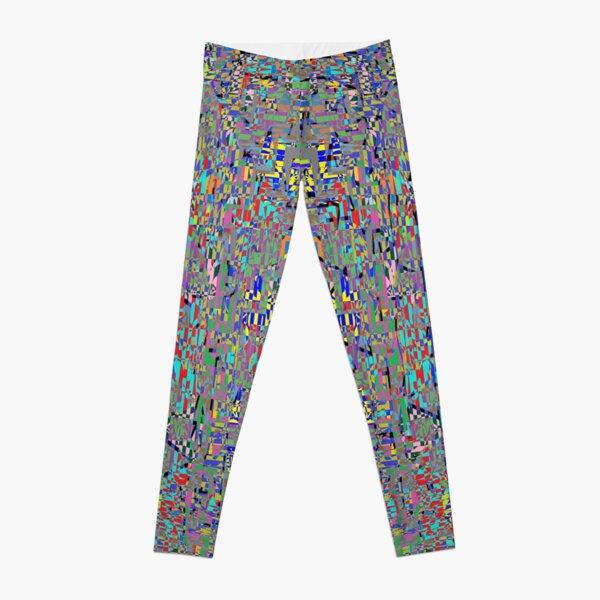 пестрый, motley, variegated, mottled, pied, checkered, patchwork, разноцветный Leggings