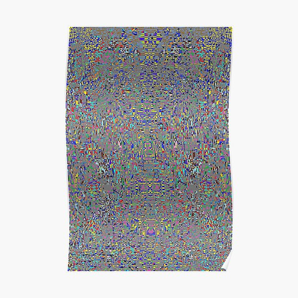 пестрый, motley, variegated, mottled, pied, checkered, patchwork, разноцветный Poster