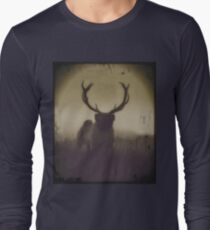 Camiseta de manga larga pug de lo salvaje