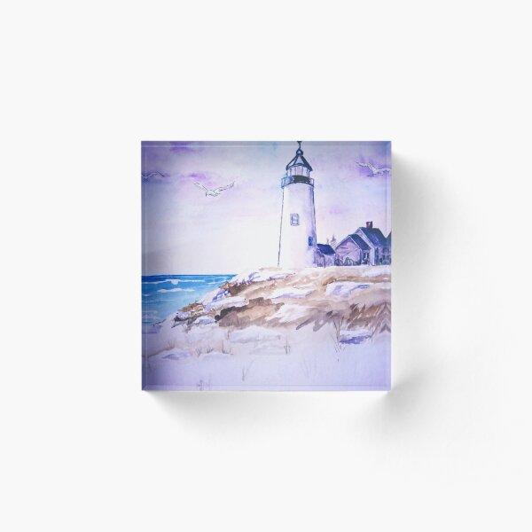 Lighthouse Acrylic Block
