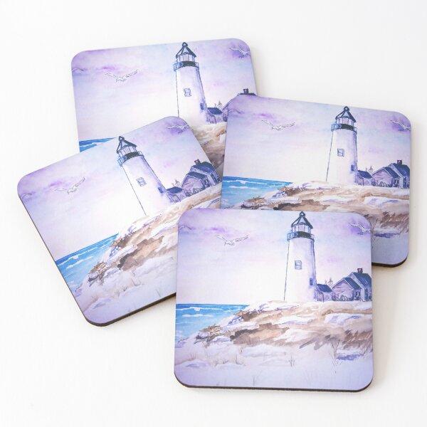 Lighthouse Coasters (Set of 4)