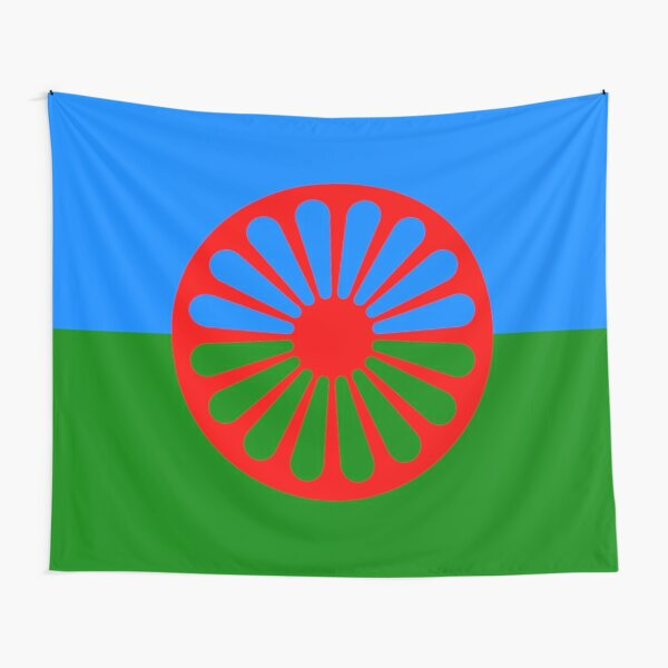 Romani Flag Collection Tapestry