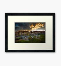 Storm Flow Framed Print