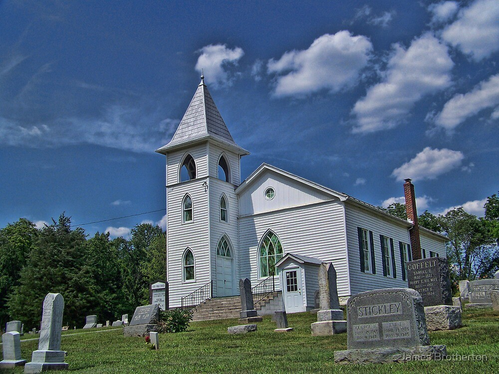 Union Forge Church by James Brotherton