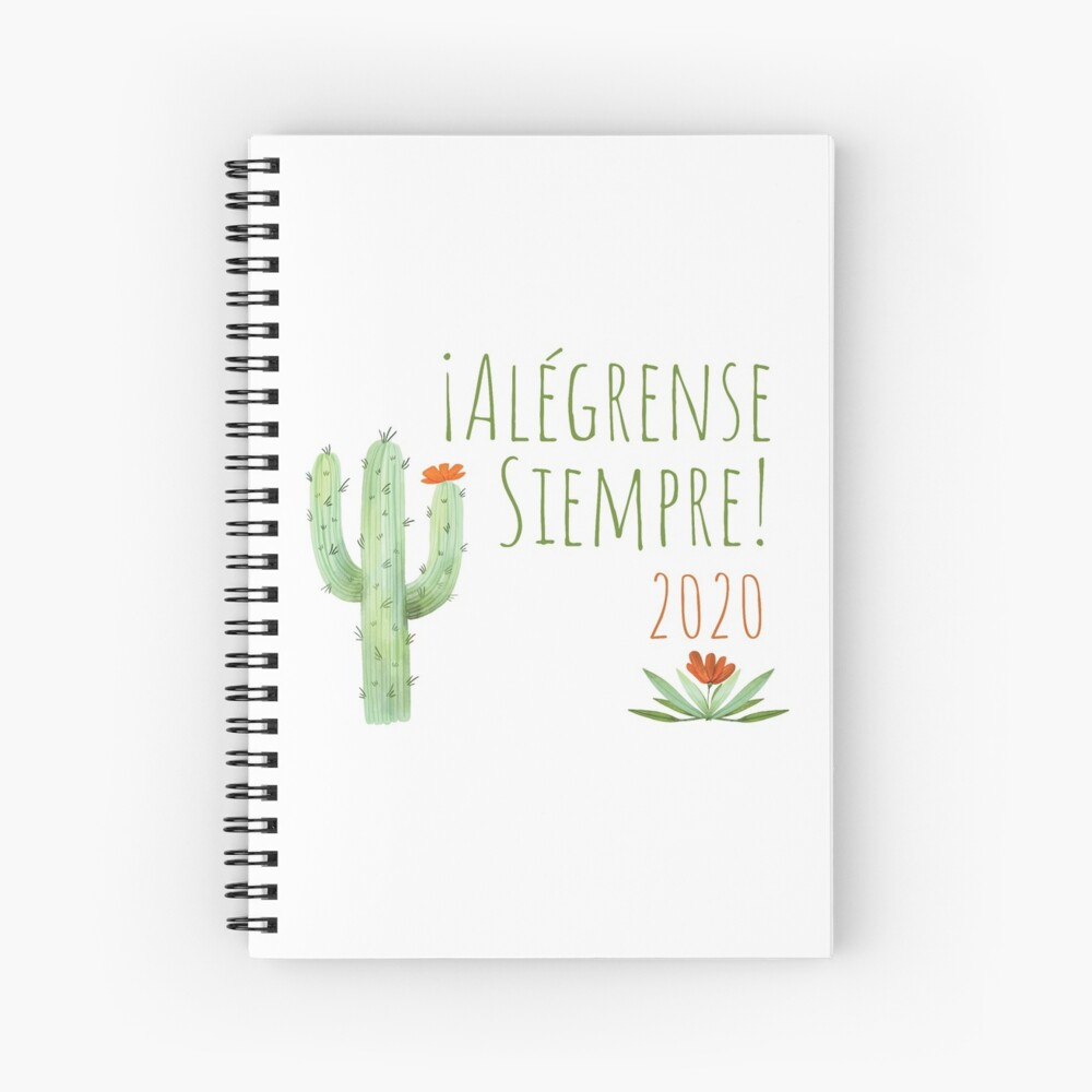 Alégrense Siempre! 2020 Always Rejoice Convention Spiral Notebook