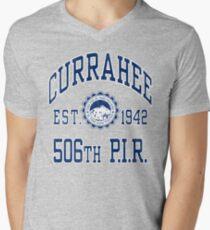 Currahee Athletic Shirt Men's V-Neck T-Shirt