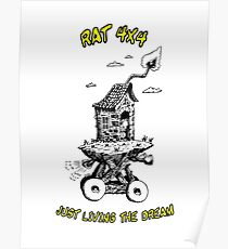 RAT 4x4 - JUST LIVING THE DREAM Poster