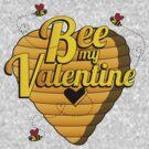 Bee my Valentine by kaligraf