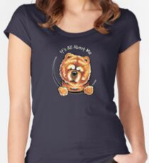 Chow Chow :: Its All About Me Women's Fitted Scoop T-Shirt