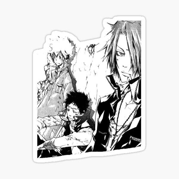 Katekyō Hitman Reborn! - Vongola Trio Sticker