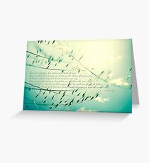 Love one another... Greeting Card