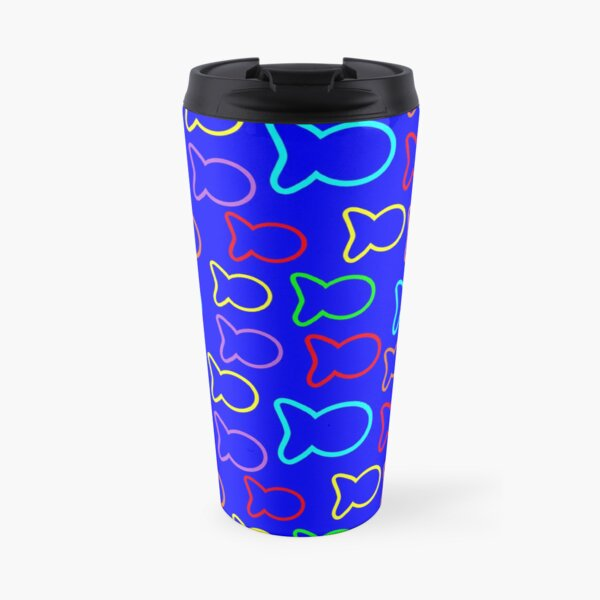 Colorful fish Travel Mug