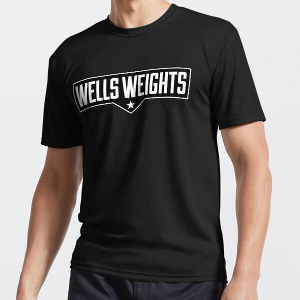 WellsWeights Badge Active T-Shirt