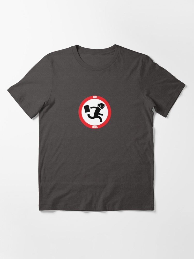Alternate view of INTERSECT (NERD HERD) - Logo Only Essential T-Shirt