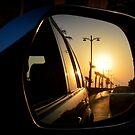 Sunset in retrospect by redscorpion