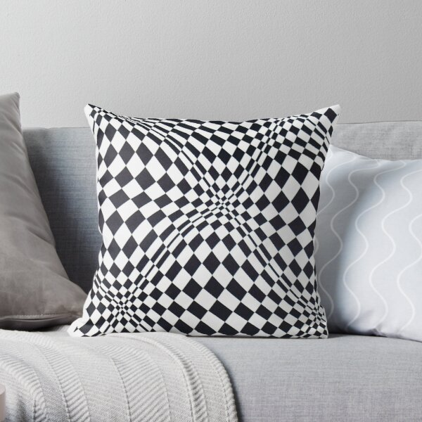 Visual arts - 3d quilt Throw Pillow