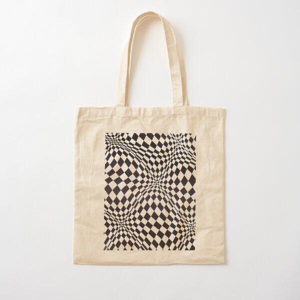 Visual arts - 3d quilt Cotton Tote Bag