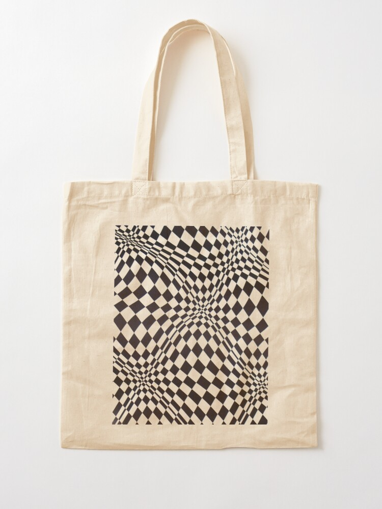 Alternate view of Visual arts - 3d quilt Tote Bag