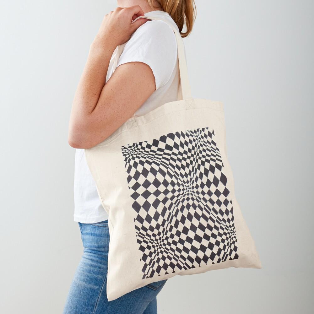 Visual arts - 3d quilt Tote Bag