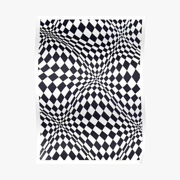 Visual arts - 3d quilt Poster