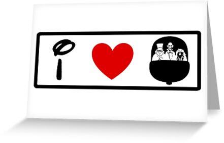 I Heart Haunted Mansion (Classic Logo) by ShopGirl91706