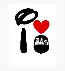I Heart Haunted Mansion Photographic Print