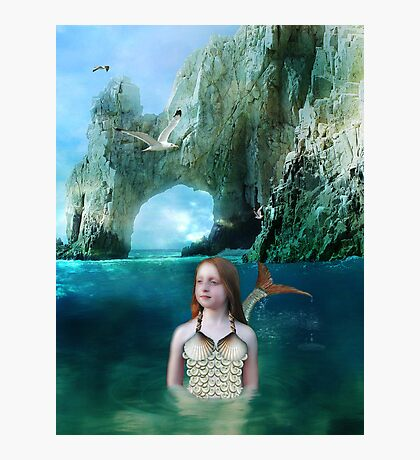 Young Mermaid Photographic Print
