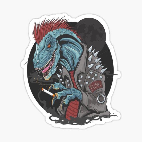 Rock T-rex Premium Design Sticker