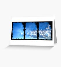 ©HCS-DA Horizon Ink Clouds Greeting Card