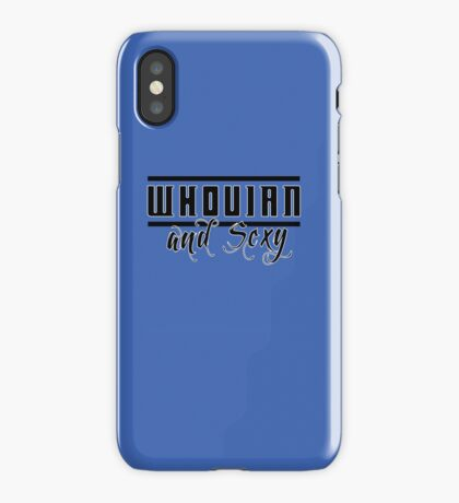Whovian and Sexy iPhone Case