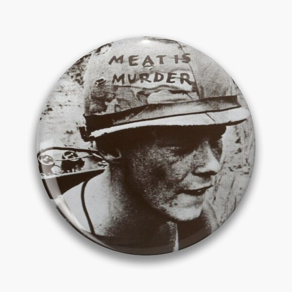 The Smiths Meat Is Murder Pin