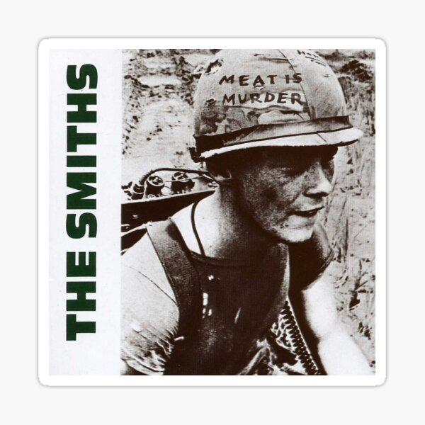 The Smiths Meat Is Murder Sticker