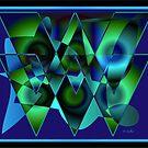 Bluetriangles by IrisGelbart